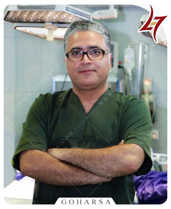 دکتر امیر حسین سروری-متخصص گوش و حلق و بینی-مرکز جراحی گهرسا